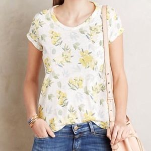 t.la Floral Tee from Anthropologie